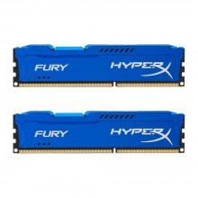 Kingston HyperX FURY 8GB Kit (2x4GB) 1866MHz DDR3 CL10 DIMM - Blue (HX318C10FK2/8)