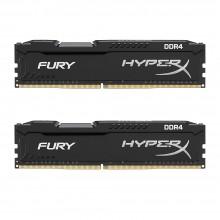 Kingston HyperX FURY Black 8GB Kit (2x4GB) 2133MHz DDR4 Non-ECC CL14 DIMM Desktop Memory (HX421C14FBK2/8)