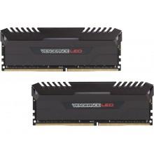 CORSAIR Vengeance LED 16GB (2 x 8GB) 288-Pin DDR4 SDRAM DDR4 2666 (PC4 21300) Memory (Desktop Memory) Model CMU16GX4M2A2666C16R