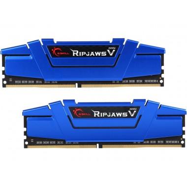 G.SKILL Ripjaws V Series 16GB (2 x 8GB) 288-Pin DDR4 SDRAM DDR4 2666 (PC4 21300) Intel Z170 Platform / Intel X99 Platform Desktop Memory Model F4-2666C15D-16GVB  F4-2666C15D-16GVB