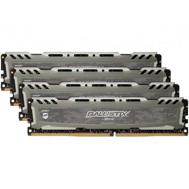 Ballistix Sport LT 64GB (4 x 16GB) 288-Pin DDR4 SDRAM DDR4 2400 (PC4 19200) Desktop Memory Model BLS4K16G4D240FSB  BLS4K16G4D240FSB