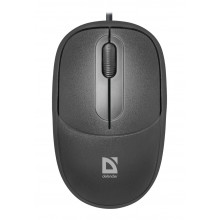 Wired mouse Defender Datum MS-980 black,3 buttons,1000dpi