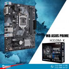 Motherboard Asus PRIME H310M-K R2.0 LGA1151 P/N 90MB0Z30-M0EAY0