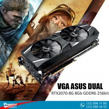 VGA ASUS DUAL-RTX2070-8G 8Gb GDDR6 256bit