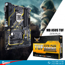 Motherboard Asus TUF Z370-PLUS GAMING LGA1151 P/N 90MB0VF0-M0EAY0