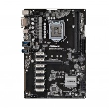 ASRock H110 Pro BTC+ LGA 1151 Intel H110 SATA 6Gb/s USB 3.0 ATX Intel Motherboard