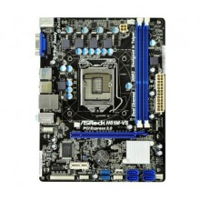 Asrock H61M-VS Micro-ATX Motherboard (Socket 1155, Onboard Sound and LAN, ASRock Extreme Tuning Utility - AXTU)