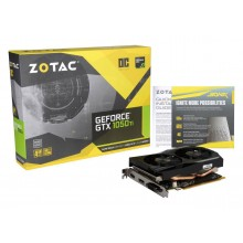 ZOTAC GeForce GTX 1050 Ti DirectX 12 ZT-P10510B-10L 4GB 128-Bit GDDR5 PCI Express 3.0 HDCP Ready Video Card