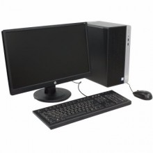 "HP ProDesk 400 G4 Microtower PC Bundle / 1QP67ES / Intel Core i7 6700 3.40 up to 4.0 GHz / RAM 8 GB / HDD 1TB / HP V213a 20.7"" LCD"
