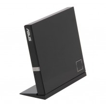 ASUS USB 2.0 External Blu-Ray 6X Re-writer with BDXL Support MacOS Compatible Model SBW-06D2X-U/BLK/G/AS