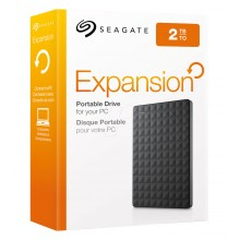 Seagate 2TB Expansion Portable External Hard Drive USB 3.0 Model STEA2000400 Black