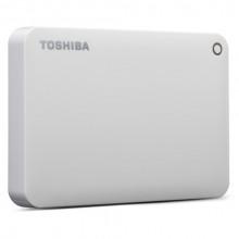 TOSHIBA 2TB Canvio Connect II Portable Hard Drive USB 3.0 (USB 2.0 compatible) Model HHDTC820EW3CA White