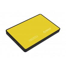 ORICO Tool Free 2.5 inch USB 3.0 to SATA External Hard Drive Enclosure for 7mm/9.5mm Hard Drive Disk - Orange