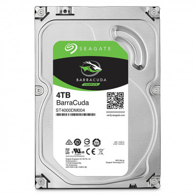 "Seagate BarraCuda ST4000DM005 4TB 64MB Cache SATA 6.0Gb/s 3.5"" Hard Drive Bare Drive  Seagate 7200 BarraCuda"