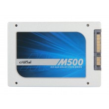 """Crucial M500 CT120M500SSD1 7mm (with 9.5mm adapter) 2.5"""" 120GB MLC Internal Solid State Drive (SSD)"""
