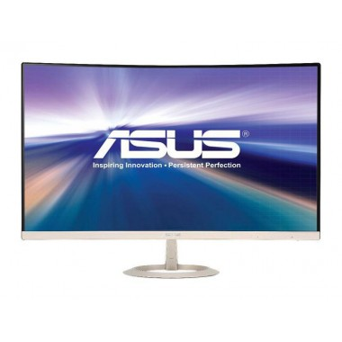 """ASUS VZ27VQ Silver / Black 27"""" 5ms (Gray to Gray) HDMI LCD/LED Monitor 250 cd/m2 Contrast Ratio (Max): 3000:1 ASUS Smart Contrast Ratio (ASCR): 100000000:1"""
