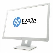 "HP EliteDisplay E242e 60.96 cm (24"") Monitor (White) (N3C01AA)"