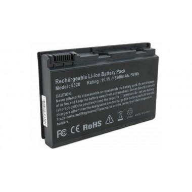 Notebook Battery Acer TravelMate 5320, 5200 mAh  TravelMate 5320