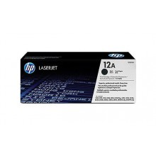 HP 12A LaserJet Toner Cartridge - Black