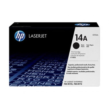 HP 14A LaserJet Toner Cartridge - Black  HP 14A