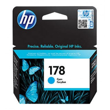 HP 178 (CB318HE) Cyan Original Ink Cartridge  HP 178 (CB318HE)