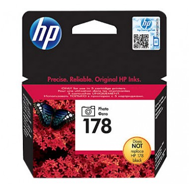HP 178 (CB317HE) Photo Black Cartridge  HP 178 (CB317HE)