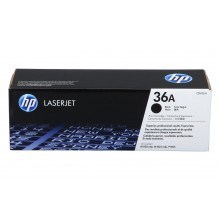 HP 36A LaserJet Toner Cartridge - Black