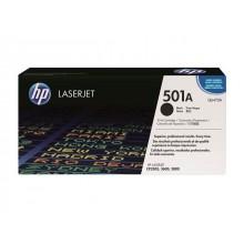 HP 501A LaserJet Toner Cartridge - Black