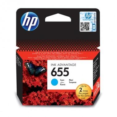 HP 655 (CZ110AE) Inkjet Cartridge Cyan  HP 655 (CZ110AE)
