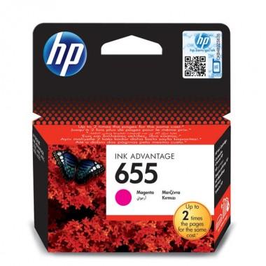 HP 655 (CZ111AE) Inkjet Cartridge Magenta  HP 655 (CZ111AE)