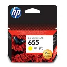 HP 655 (CZ112AE) Inkjet Cartridge Yellow