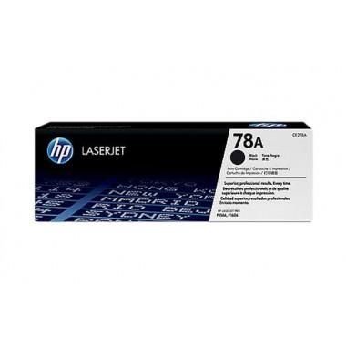 HP 78A LaserJet Toner Cartridge - Black  HP 78A
