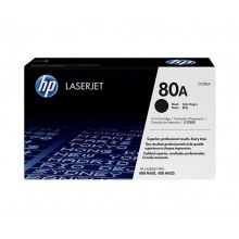 HP 80A LaserJet Toner Cartridge - Black