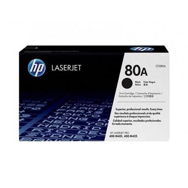HP 80A LaserJet Toner Cartridge - Black  HP 80A