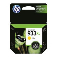 HP 933XL High Yield Ink Cartridge - Yellow